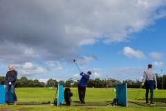 MELBOURNE, AUSTRALIA - MAY 13: After all recreation having been banned in Victoria, Melbournians return to the Albert Park driving range as restrictions are being eased in Victoria during COVID 19 on 13 May, 2020 in Melbourne, Australia. (Photo by Speed Media/Icon Sportswire)